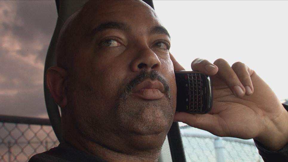 Dallas Deployment Sergeant Harper moves in on suspect
