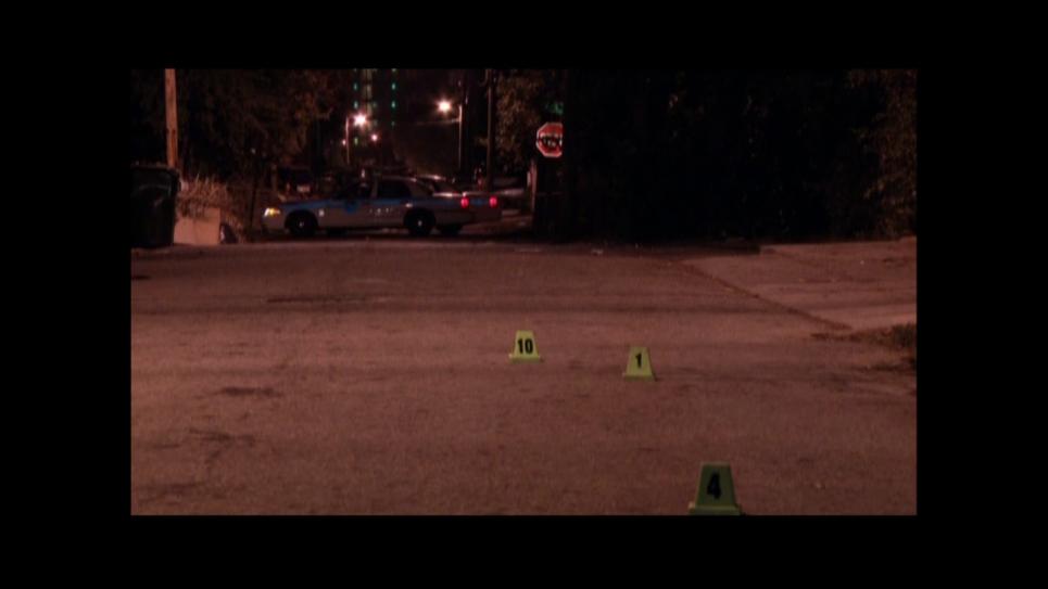 Miami crime scene