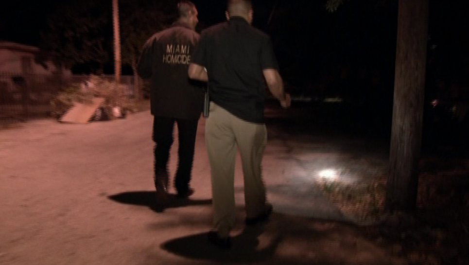 Miami detectives search for evidence