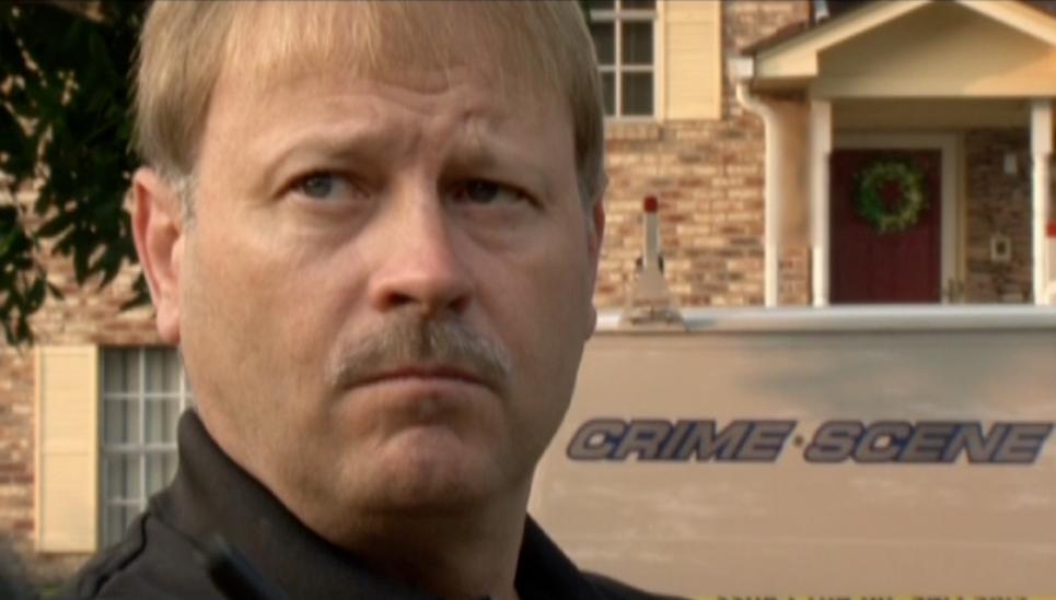 Sergeant  Noblitt Birmingham crime scene