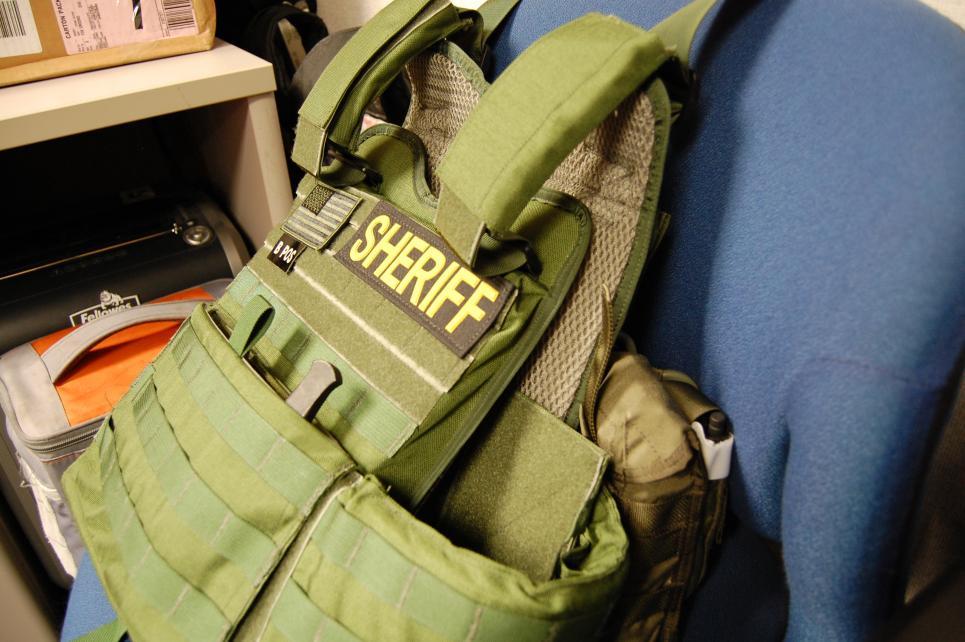 Bulletproof vests issued to homicide team members