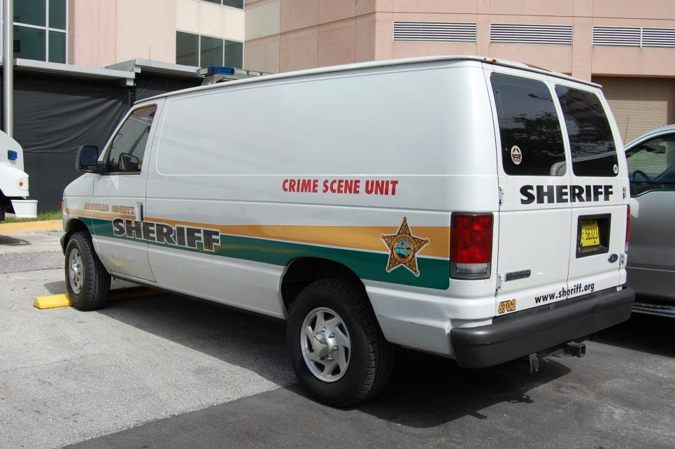 Crime Scene Unit van is used more often