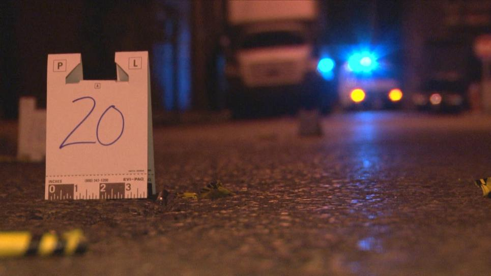 Detectives find multiple shell casings