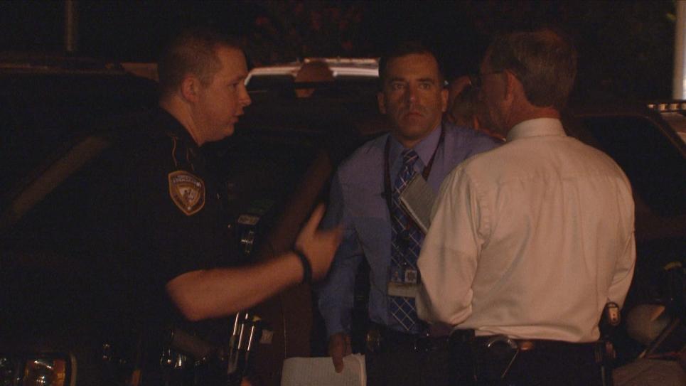 Deputy Brown gets briefing