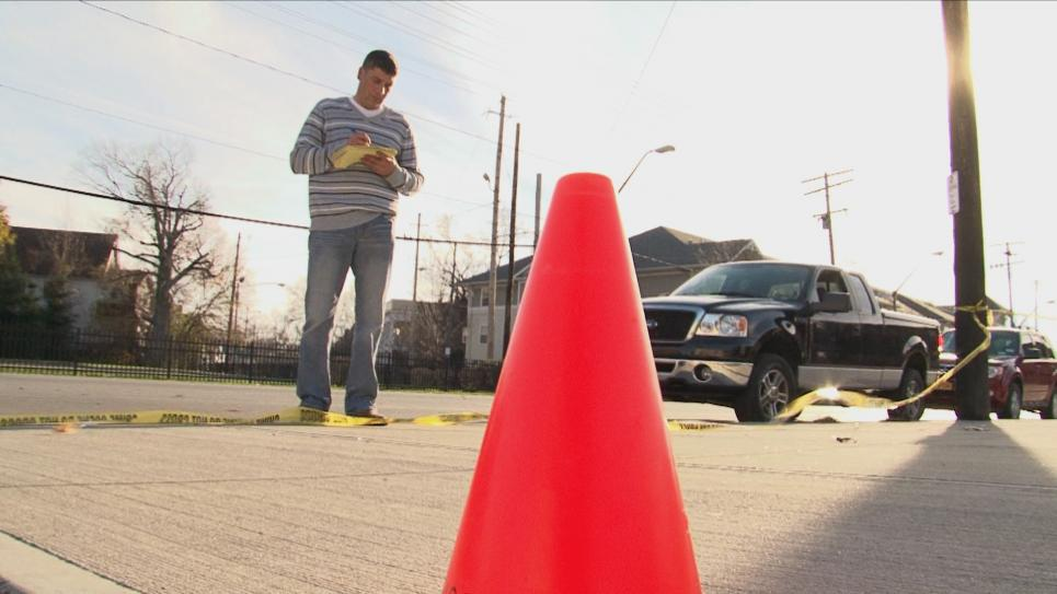 Detective Diaz works second crime scene