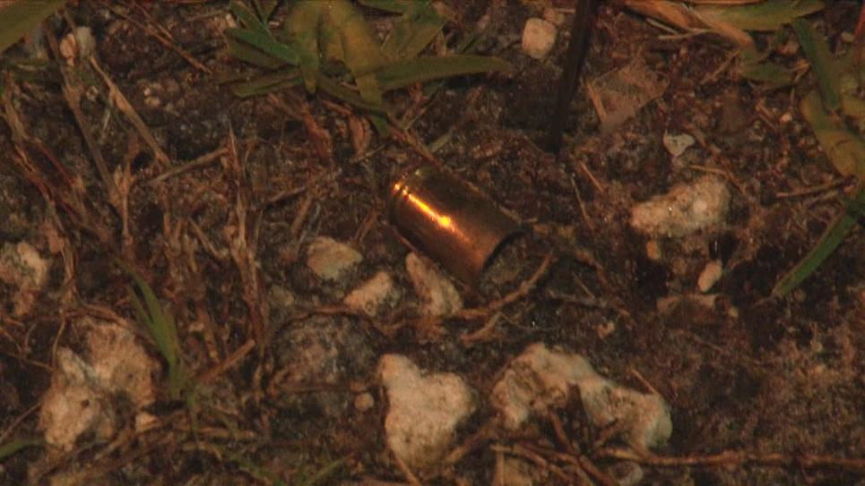 Detectives find shell casings