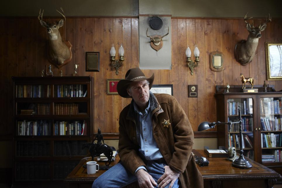 Longmire has not been at office much lately