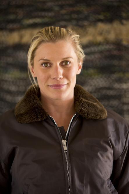 Katee Sackhoff  without shades