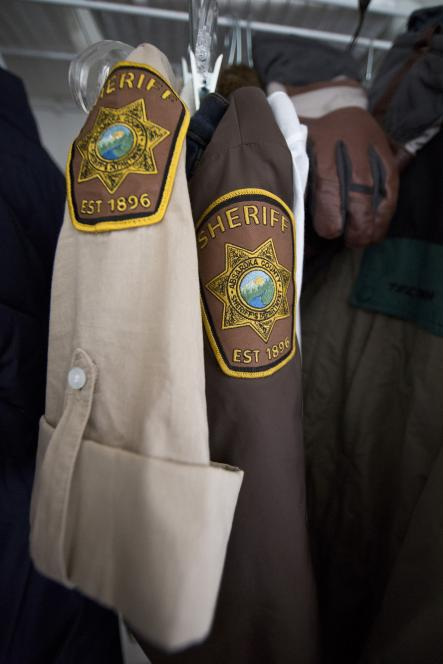 Absaroka County Sheriff's Office patch looks real
