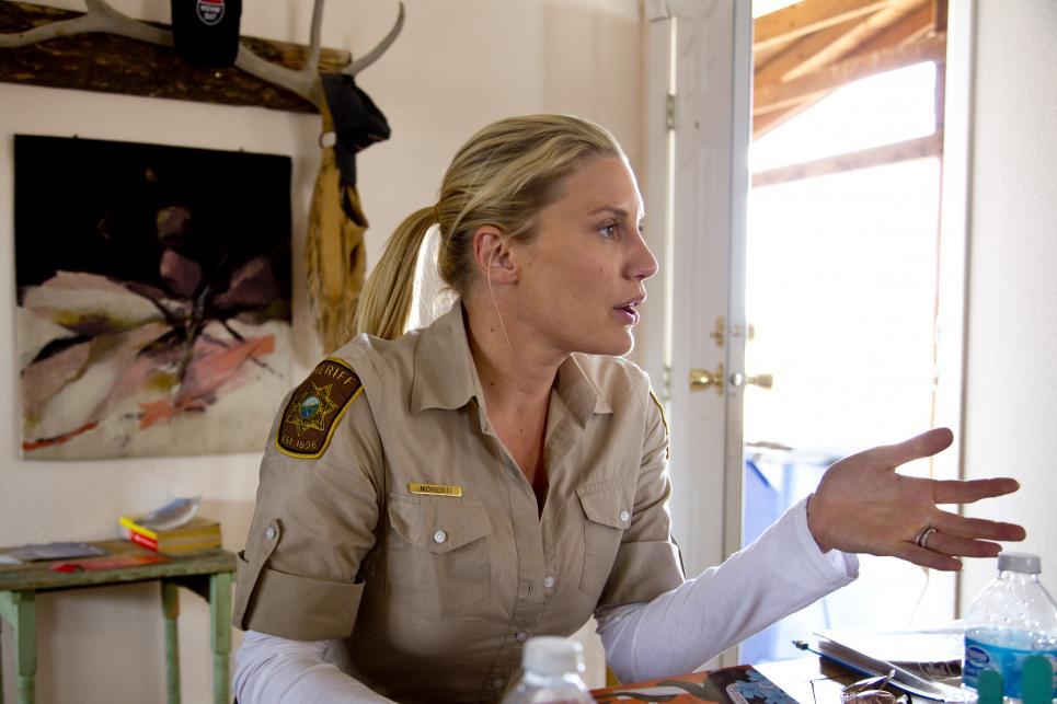 Katee Sackhoff jumps into conversation