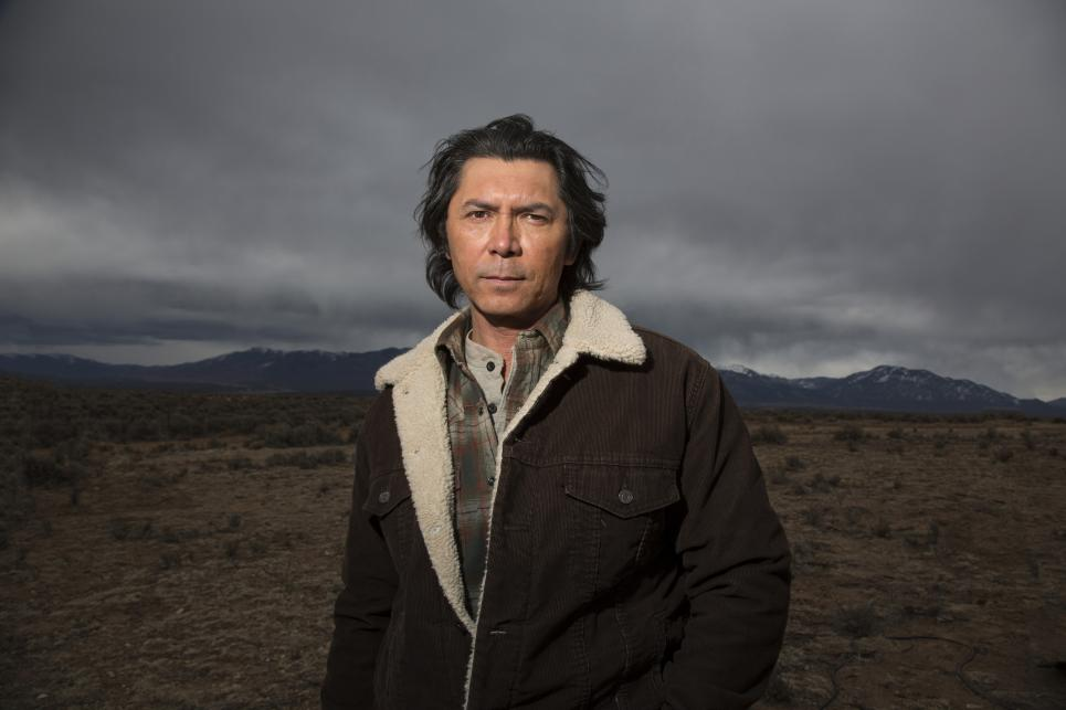 Lou Diamond Phillips plays Henry Standing Bear
