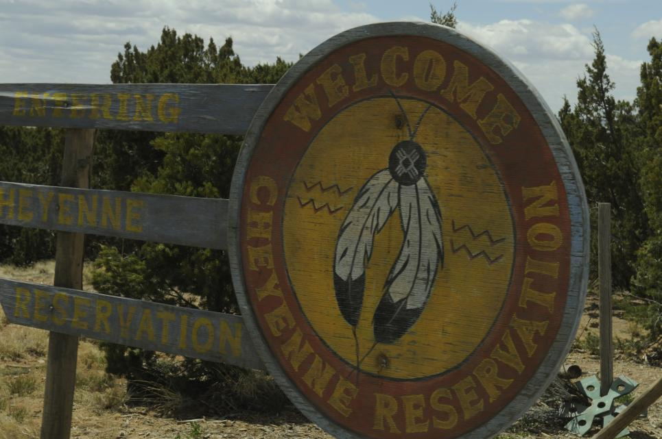 Walt is persona non grata on Cheyenne Reservation