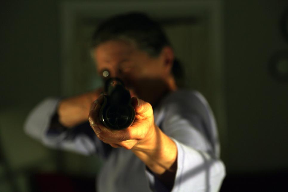 Donna had a shotgun