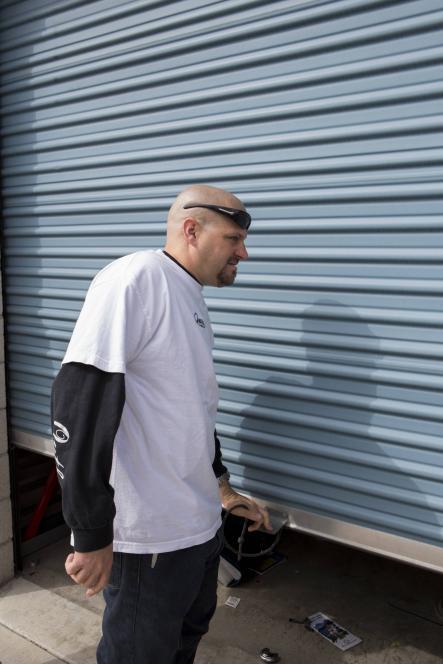 Jarrod Schulz opens new locker