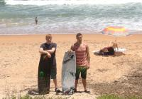 Cody and Luke on Spring Break in Flagler Beach
