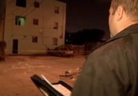 Sanchez makes notes about crime scene