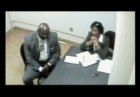 Torrence and Morro interview potential suspect