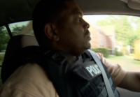 Anderson en route to serve search warrant
