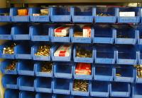 Bullets kept in In the ballistics lab