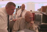 Detective Raley checks in with Robbery Unit