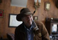 Longmire's best weapons are his grin and good manners
