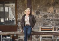Katee Sackhoff poses for a shot