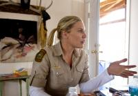 Katee Sackhoff jumps into conversation