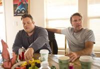 Adam Bartley grabs snack with Robert Taylor
