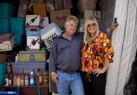 Dan and Laura Dotson pose