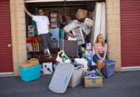 Jarrod and Brandi check out new loot