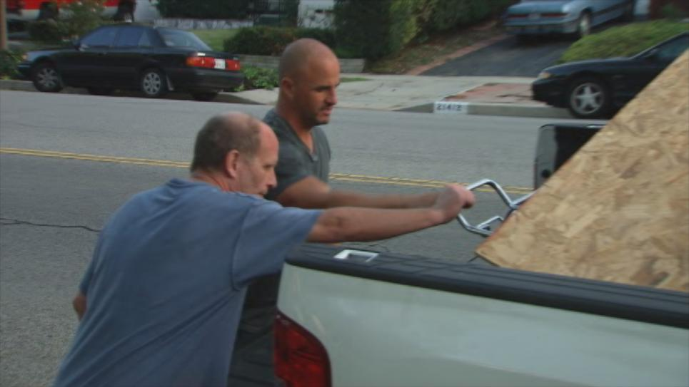 Steve meets paint sprayer owner
