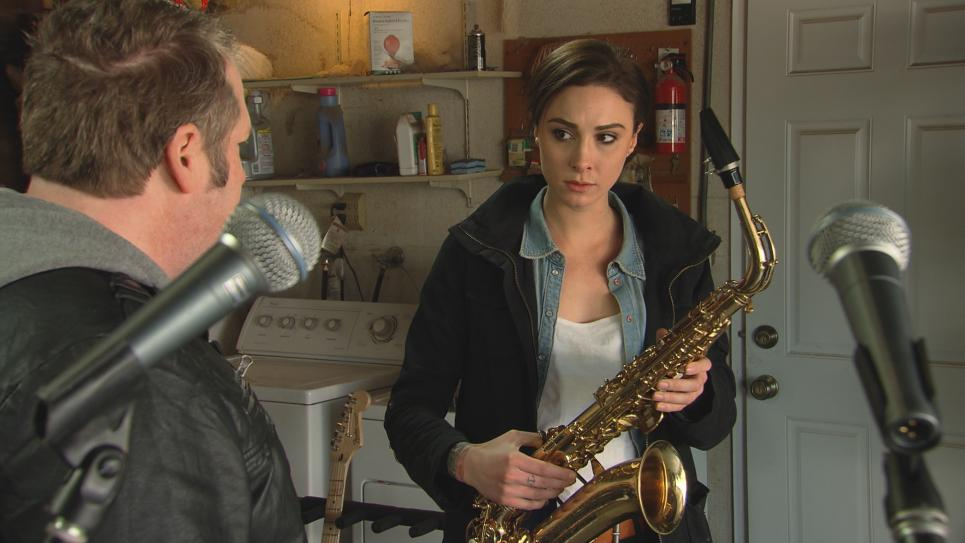 Kendall trades for sax