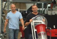 Steve and Antonio bring in gumball machine