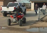 Antonio's last ride on his quad