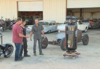 Antonio trades air compressor for chassis