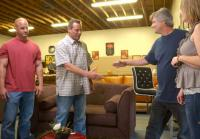 Antonio meets furniture store owners