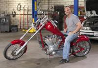 Steve wants red chopper