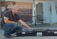 Steve trades DJ equipment
