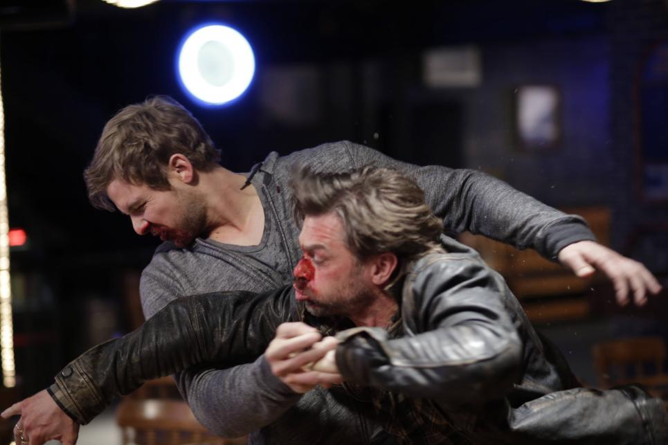 Remo unexpectedly punches Dylan