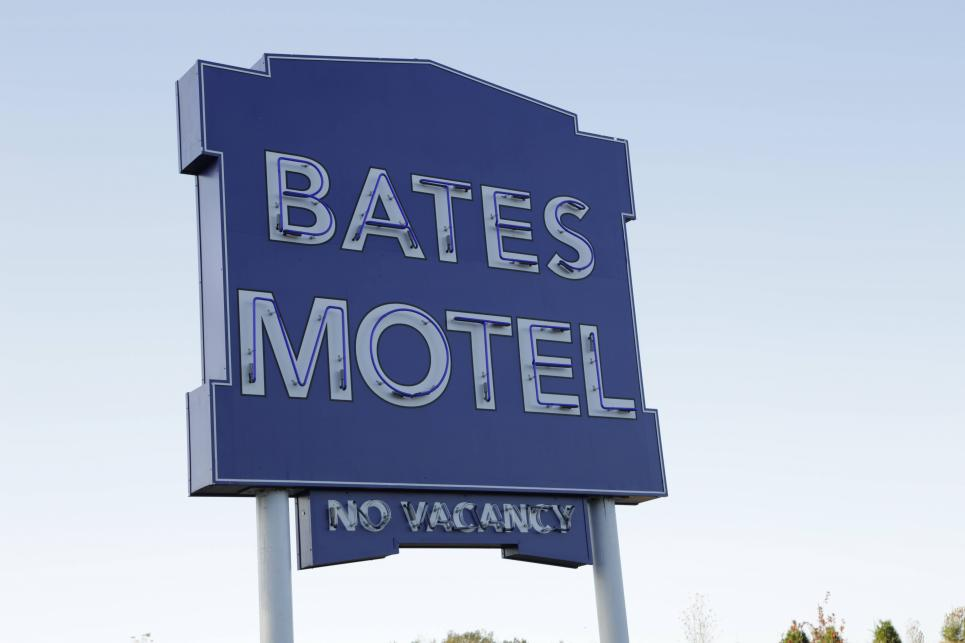 Norma and Norman open the Bates Motel