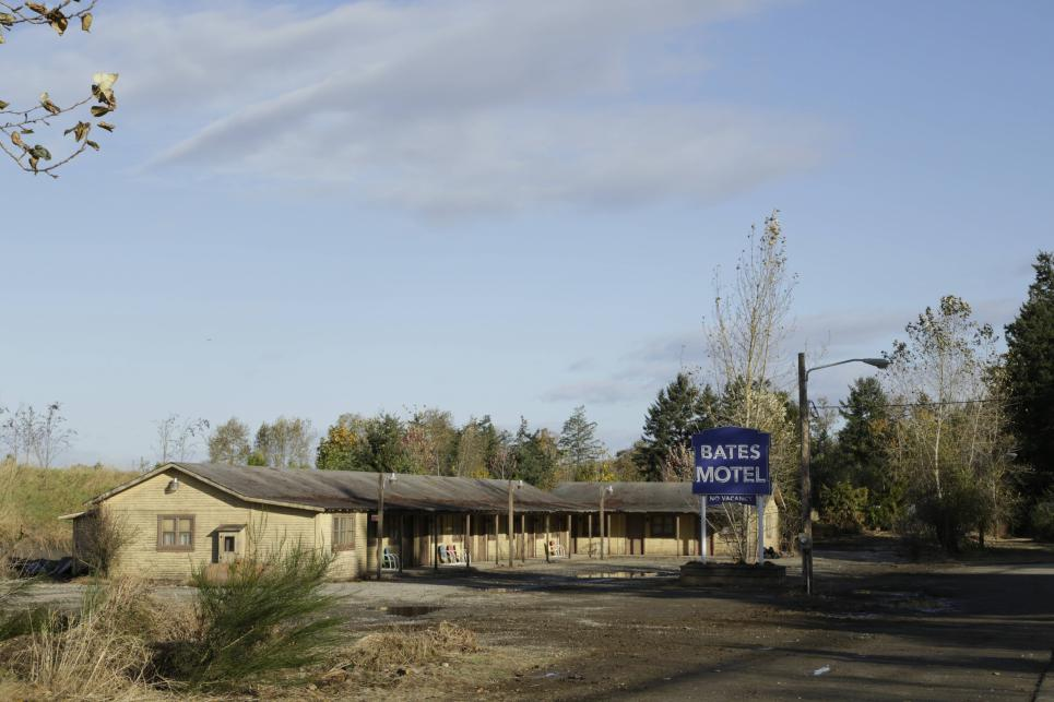 The Bates Motel in  White Pine Bay