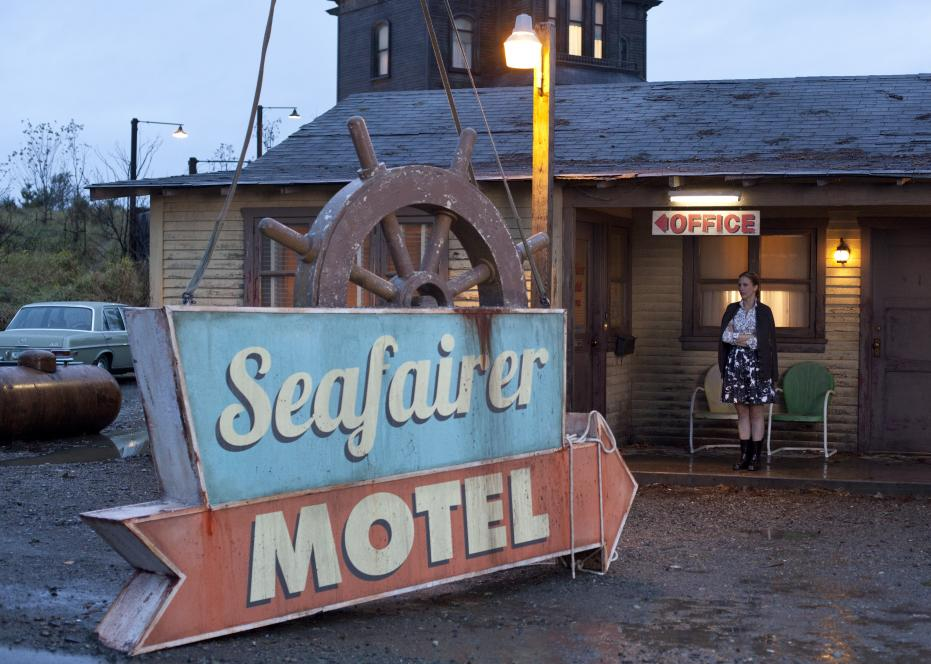 The Seafairer sign comes down