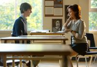 Norman's teacher is played by Keegan Connor Tracy