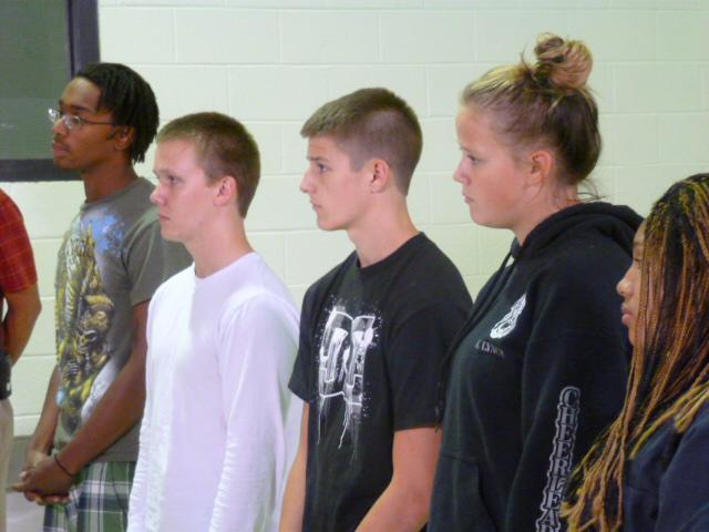 At-risk teens arrive for RESET  program