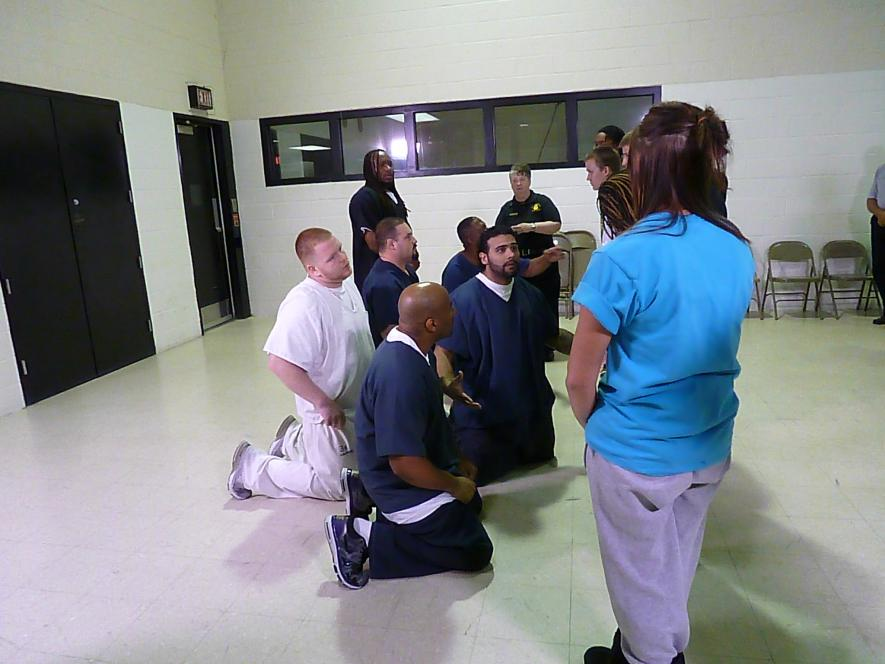 Inmates beg teens to change
