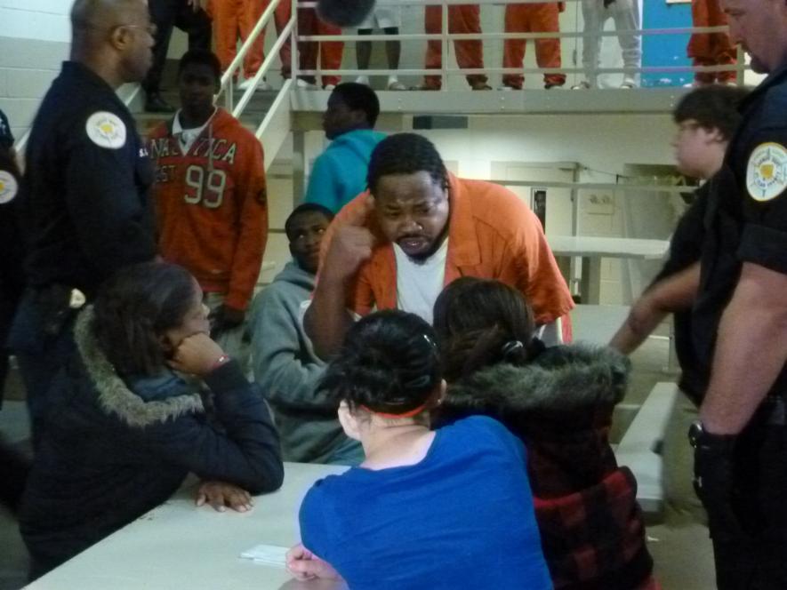 Inmate begs teens to appreciate freedom