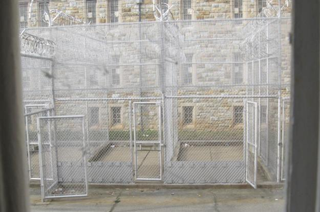 Fences at Maryland Correctional Institution
