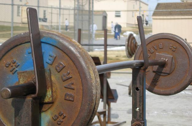 Bench pressing leave inmates vulnerable