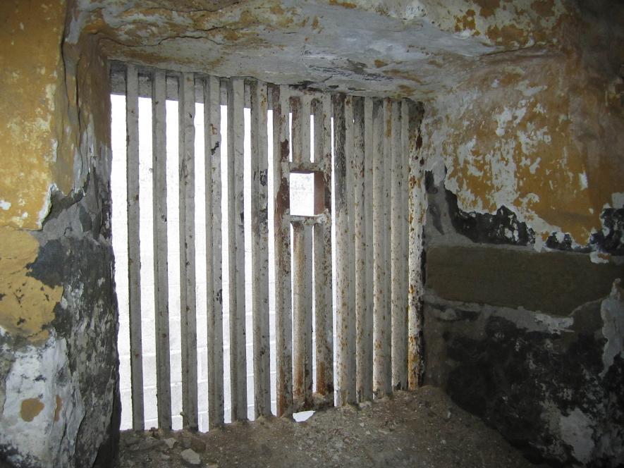 """""""The Hole"""" at San Quentin"""