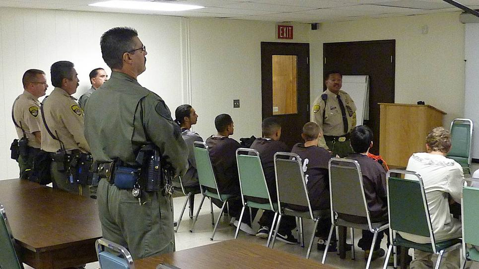 Guards warn teens about being held hostage